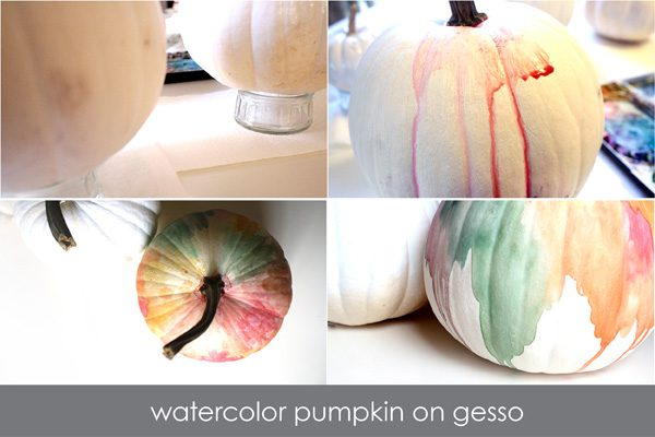 punchy painted pumpkins steps4