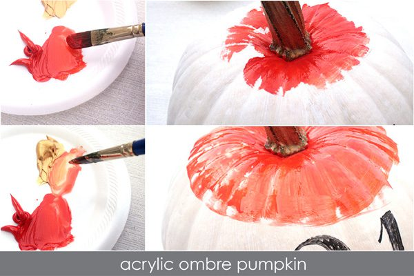 punchy painted pumpkins steps5