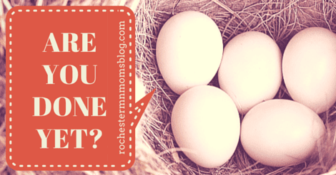 """""""Are You Done Yet?"""" 