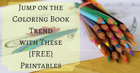 Jump on the Coloring Book Trend with These Free Printables | Rochester MN Moms Blog