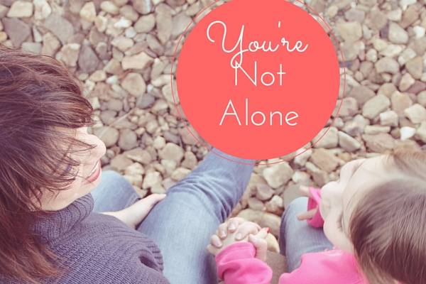 You're Not Alone | Rochester MN Moms Blog