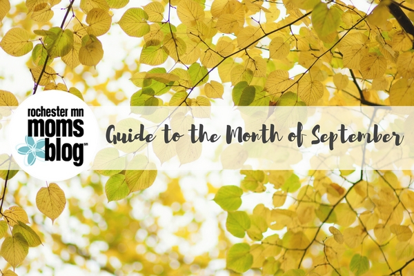 rochester mn, roch mn, september, events, family events, kids events, fall events