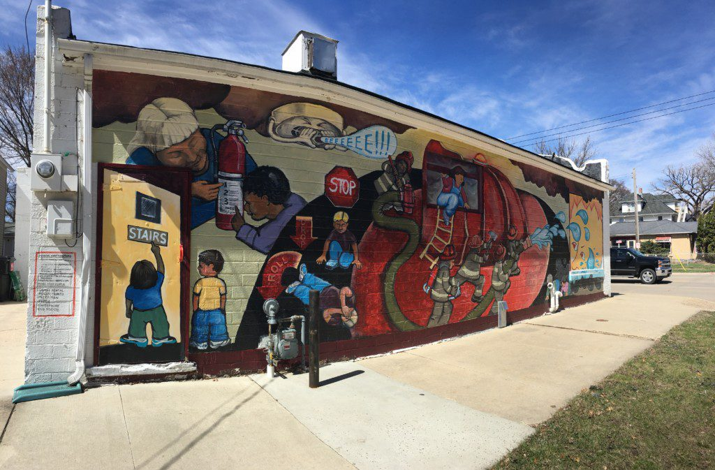 Mural: Fire Safety