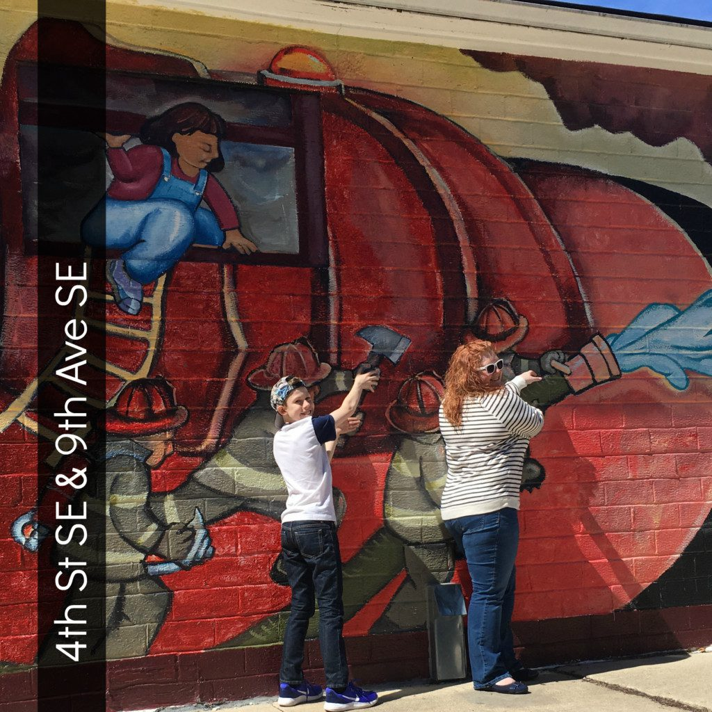 Mural: Rochester Fire Extinguisher Company
