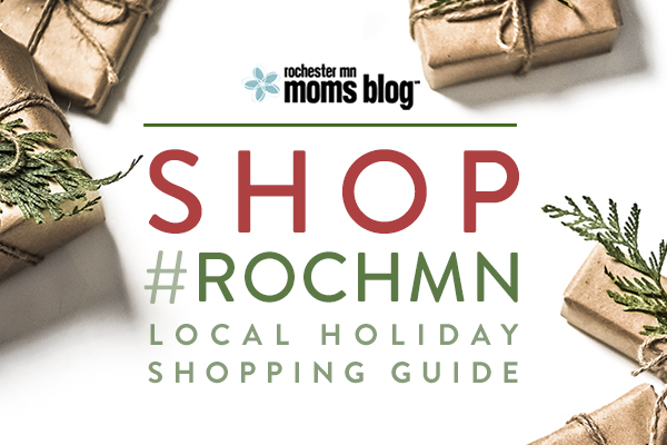 shop local, support local, local holiday, holiday shopping guide, local gifts, rochester mn, rochmn, minnesota