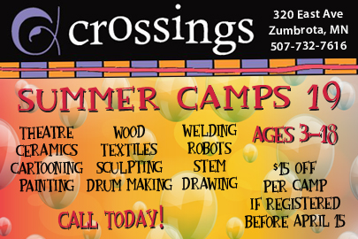 2019 Guide to Summer Camps in SE Minnesota - Crossings at Carnegie | Rochester MN Moms Blog