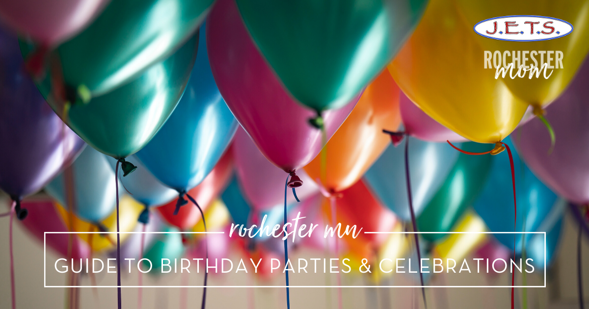 Rochester MN Guide to Birthday Parties & Celebrations | Rochester Mom