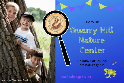 Rochester MN Guide to Birthday Parties & Celebrations - Quarry Hill Nature Center | Rochester MN Moms Blog