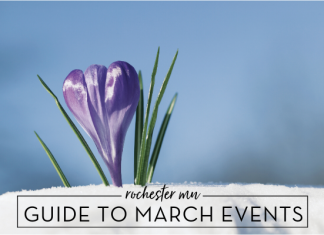 march events, march family events, monthly event guide, rochester mn, roch mn, rochester mn moms blog