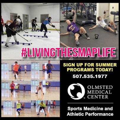 Olmsted Medical Center - Sports Medicine and Athletic Performance (SMAP) Summer Programs   Rochester Mom