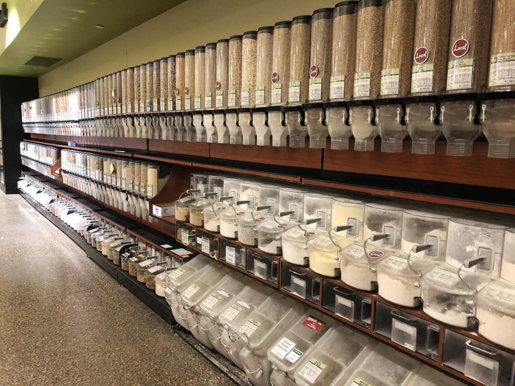 Bulk Bin s at the People's Food Co-op in Rochester, MN